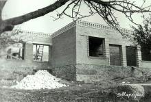 Будівництво сільського Будинку культури.
